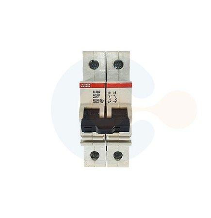 Mini Disjuntor 2P S282 Curva C 100A 6kA