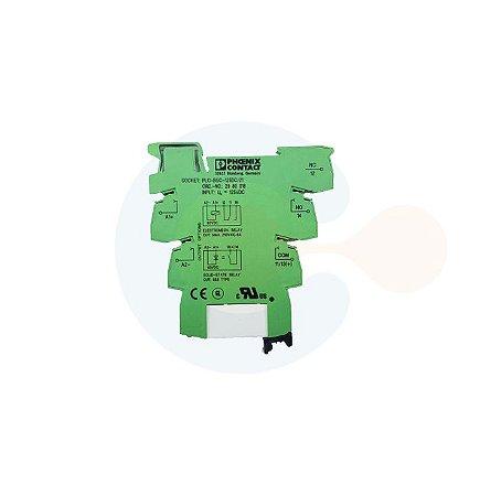 Rele Contato 1NAF Bobina 60VCC REL MR 60DC/21 +SOQUETE PLC BSC 125DC