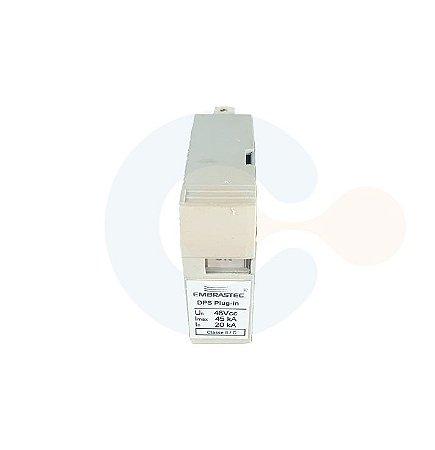 Protetor de Surto Plug In 48vcc 45kA Classe II