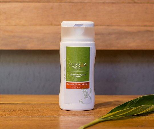 Sabonete Líquido Íntimo • Barbatimão, Tea tree e Ylang ylang