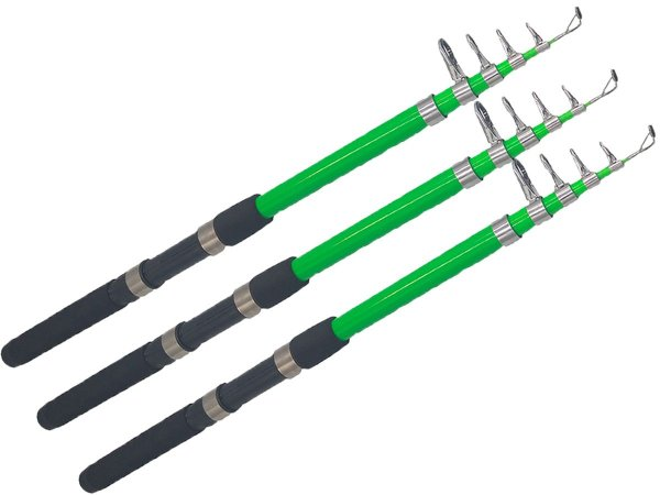 Vara de Pesca p/ Molinete Lisa 2,10m Light 14LBS Simples 3un