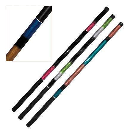 Kit 3 Varas de Mão - 2,40m 7 Lbs Luxo - Pesqueiro