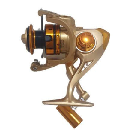 Kit 2 Molinetes 20 Lbs MR-2000 10 Rolamentos Ultra Light