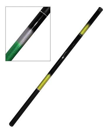 Vara Pesca Lisa 1,80M 100% Fibra de Carbono Telescópica