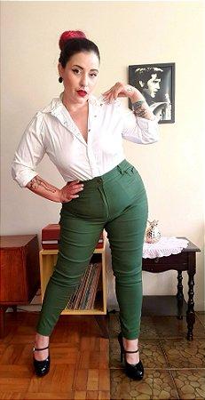 Camisa Katherine Manga Longa