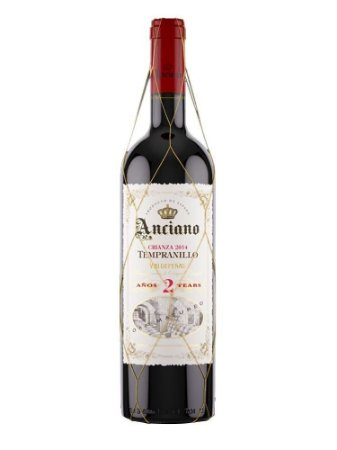 KIT 4 ANCIANO WINES CRIANZA 2 ANOS TEMPRANILLO 2015
