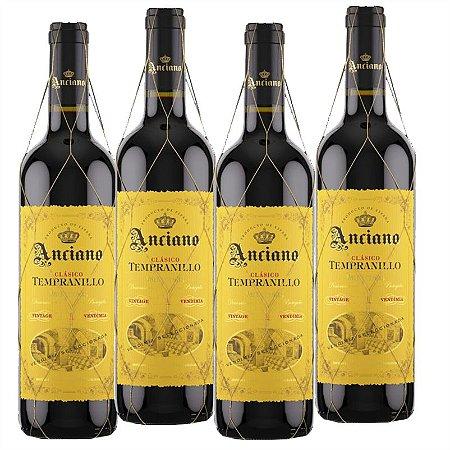 KIT 4 ANCIANO WINES CLÁSSICO TEMPRANILLO 2018