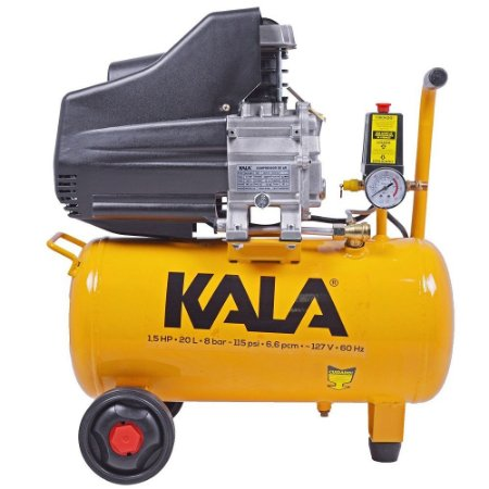 COMPRESSOR DE AR 20L 1,5HP 8BAR 220V KALA 863181