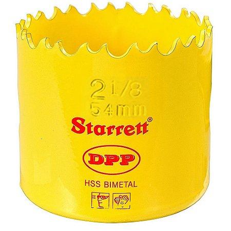 """SERRA COPO BIMETAL 54MM 2.1/8"""" STARRETT DH0218"""