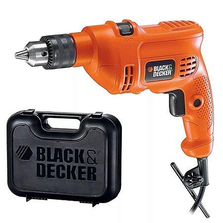 FURADEIRA DE IMPACTO 3/8 560W 220V BLACK & DECKER TM500KBR