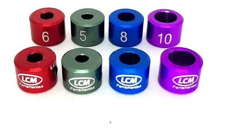 Limitadores De Brocas 4 Peças 5, 6, 8 E 10mm Lcm