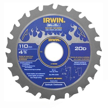 DISCO PARA SERRA MÁRMORE WELDTEC 110MM  IRWIN 1863658