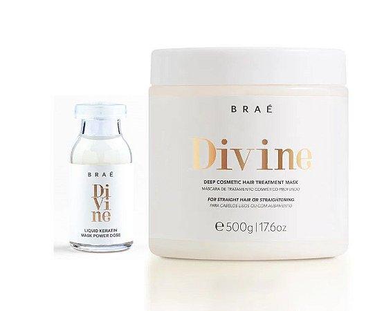 Braé Divine - Kit Duo Ampola e Máscara 500g