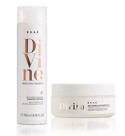 Braé Divine - Kit Duo Shampoo 250ml e Máscara 200g