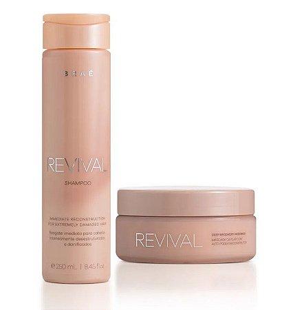 Braé Revival - Kit Duo Shampoo e Máscara 200g