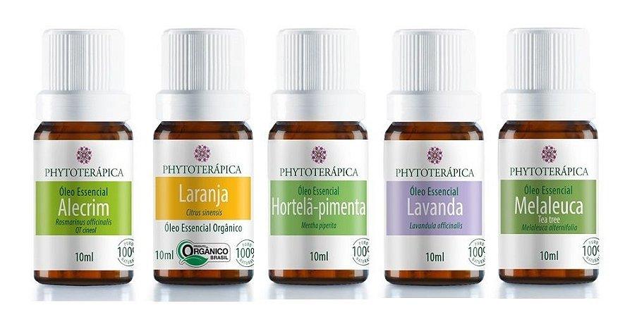 Phytoterápica Kit Top 5 Óleos Essenciais