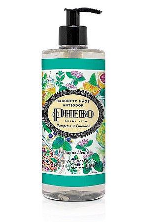 Phebo Sabonete Líquido Antiodor Folhas de Menta 500ml