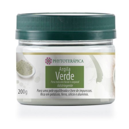 Phytoterápica Argila Verde para Máscara Adstringente 200g