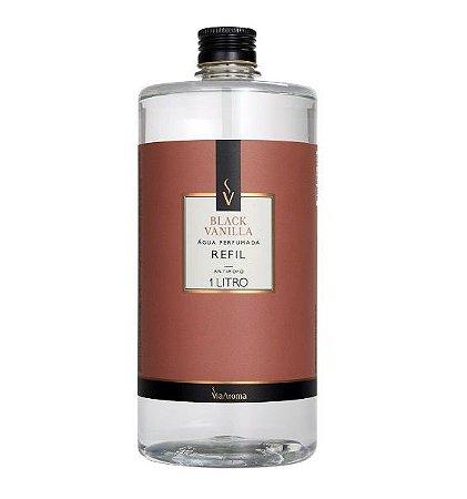 Via Aroma Refil Água Perfumada para Tecidos Black Vanilla 1L
