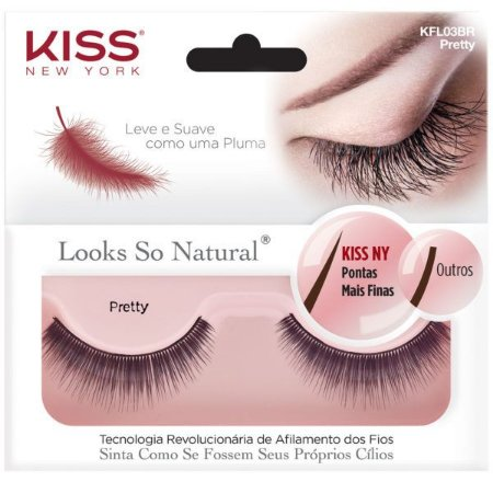 Kiss Cílios Postiços Looks So Natural Pretty