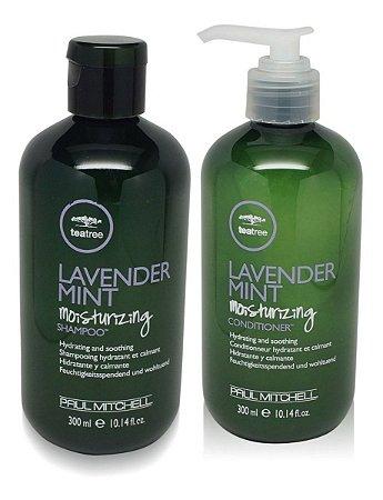 Paul Mitchell Tea Tree Lavender Mint Moisturizing - Kit Shampoo e Condicionador