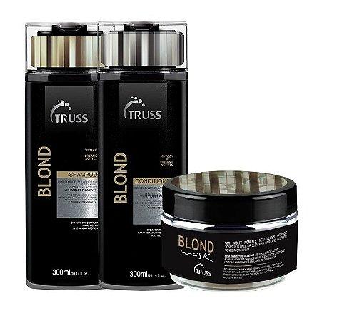 Truss Blond - Kit Shampoo Condicionador e Máscara