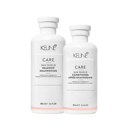 Keune Sun Shield - Kit Shampoo e Condicionador