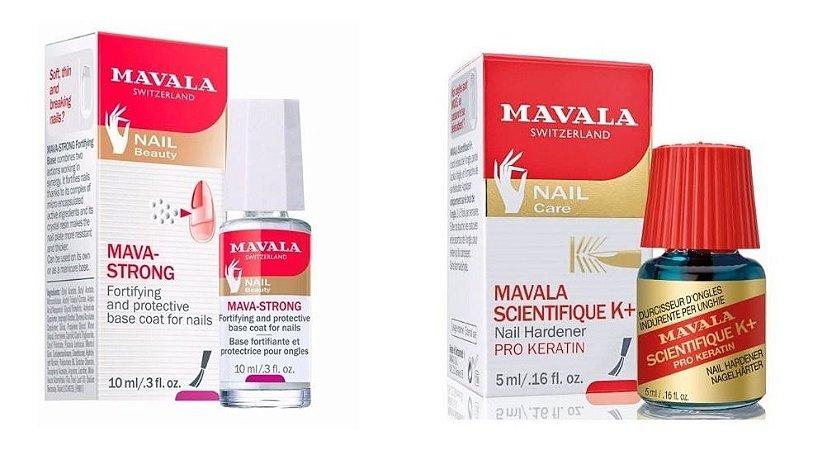 Mavala - Kit Mava Strong + Endurecedor K+