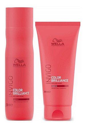 Wella Invigo Color Brillianz - Kit Shampoo e Condicionador