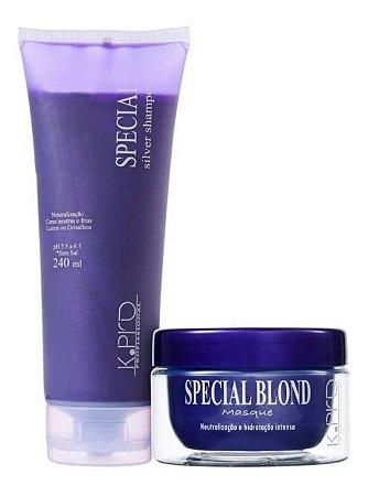 Kpro Special Silver - Kit Shampoo e Máscara