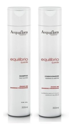 Acquaflora Equilíbrio Queda - Kit Shampoo e Condicionador Raiz Oleosa