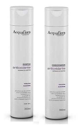 Acquaflora Antioxidante Cabelos Normais - Kit Shampoo e Condicionador