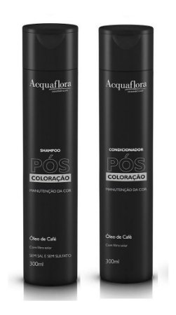 Acquaflora Pós Coloração - Kit Shampoo e Condicionador
