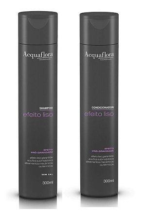 Acquaflora Efeito Liso - Kit  Shampoo e Condicionador