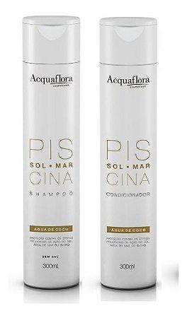 Acquaflora Piscina - Kit Shampoo e Condicionador