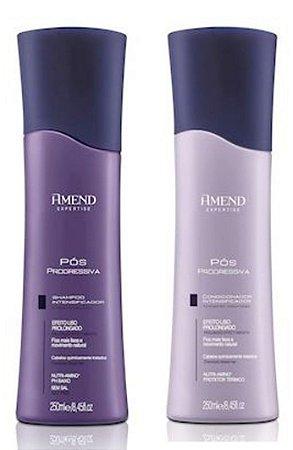 Amend Pós Progressiva - Kit Shampoo e Condicionador
