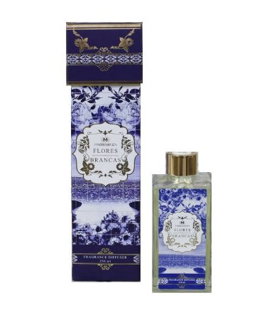 Madressenza Flores Brancas - Difusor de Aromas 250ml