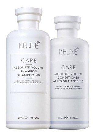 Keune Absolute Volume - Kit Shampoo e Condicionador