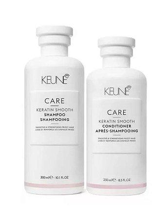 Keune Keratin Smooth - Kit Shampoo e Condicionador