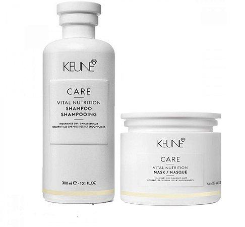 Keune Vital Nutrition - Kit Shampoo e Máscara
