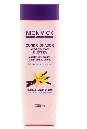 Nick Vick Nutri Hair - Hidratação e Leveza Condicionador 300ml