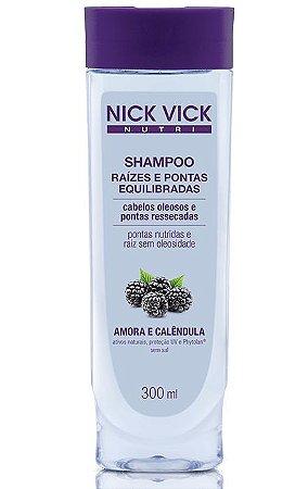 Nick Vick Nutri Hair - Raízes e Pontas Equilibradas Shampoo 300ml