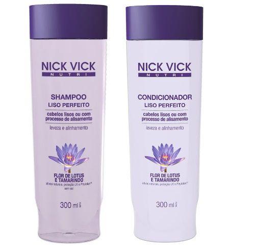 Nick Vick Nutri Hair - Liso Perfeito Kit Shampoo e Condicionador