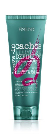 Amend Cachos - Leave-in Cachos Fechados 250g