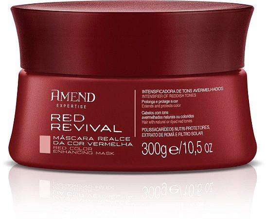 Amend Red Revival Realce da Cor Vermelha - Máscara 300g