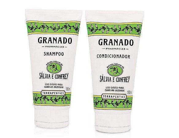 Granado Kit Shampoo e Condicionador Salvia e Confrey