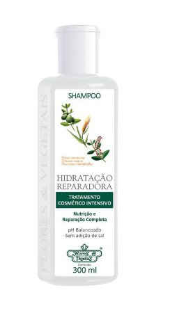 Flores e Vegetais Hidratação Reparadora - Shampoo 300ml