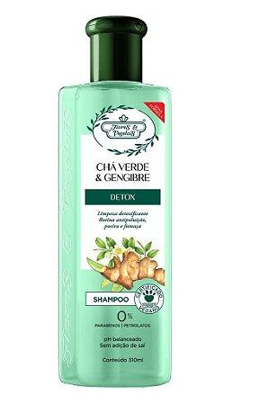 Flores e Vegetais Detox Capilar - Shampoo 300ml