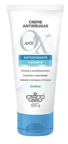 Flores e Vegetais Creme Antirrugas Anti-Ox Diurno 100g