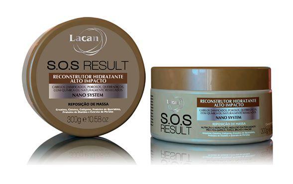 Lacan SOS Result - Máscara Reconstrutora 300g